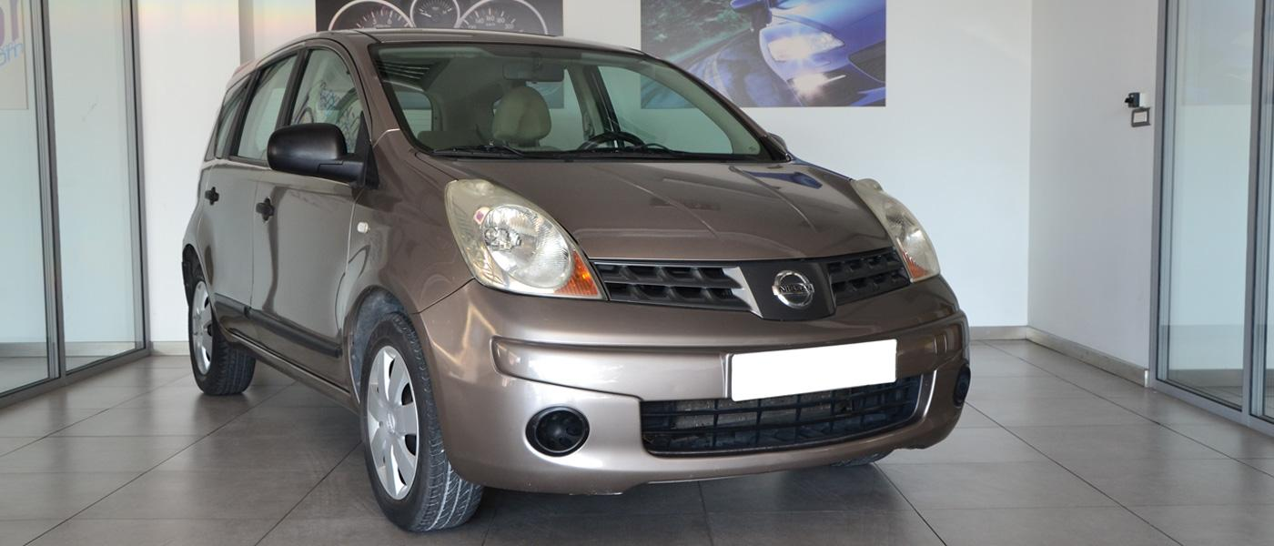 NISSAN NOTE 1400CC 08'